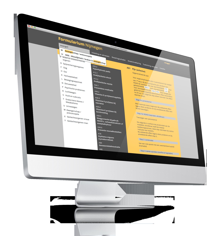 formularium medicijnen database